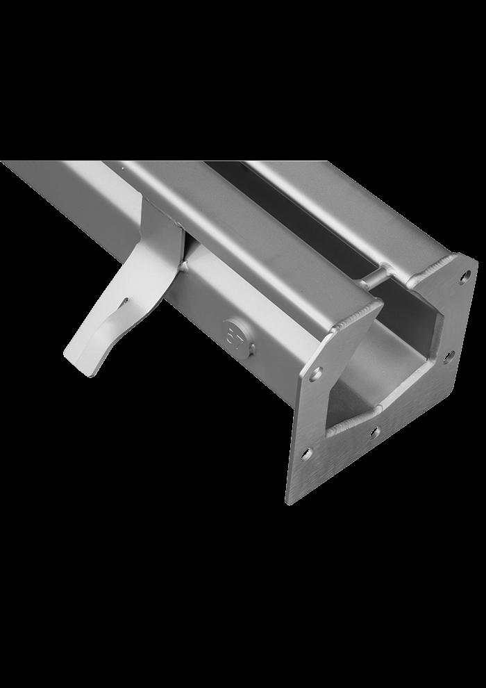 Caniveau à fente | SCM - Les équipements inox au service