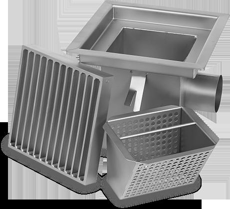 Scm les quipements inox au service de l 39 hygi ne for Siphon de sol cuisine professionnelle